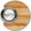 Доска (дерево) + CB0110 Коландр  (нерж.сталь)